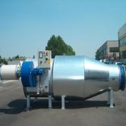 Vena d'aria a sezione tonda su Generatore - impianti industriali tesco ravenna
